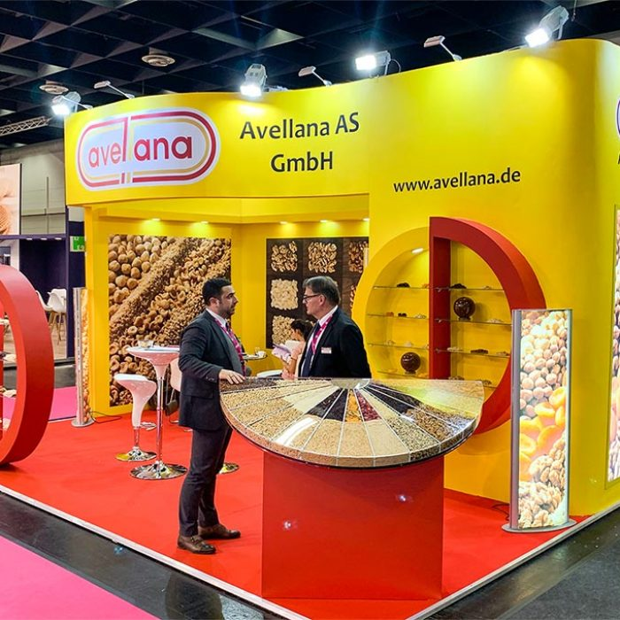 Avellana Messestand web